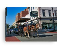Charleston Action Canvas Print