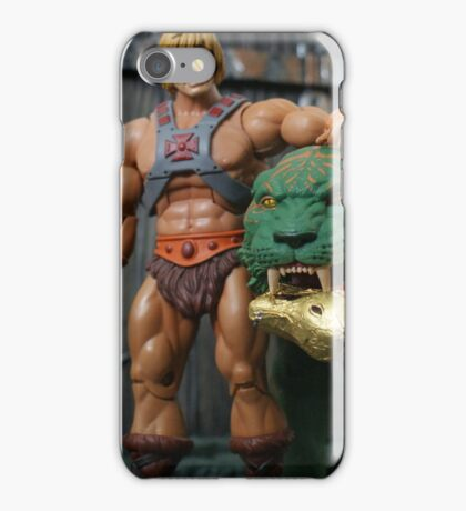 Masters of the Universe Classics - He-Man & Battle Cat iPhone Case/Skin