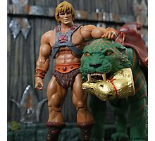 Masters of the Universe Classics - He-Man & Battle Cat Photographic Print