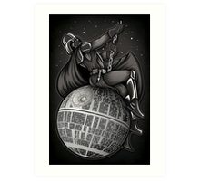 Wrecking Star - Print Art Print