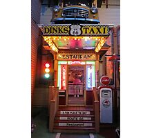 Dink's Taxi 1 Photographic Print