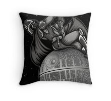 Wrecking Star - Pillows and Totes Throw Pillow