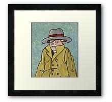 Vincent Adultman Framed Print