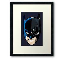 The Hero of Gotham Framed Print