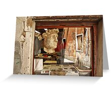 Venice in reflection Greeting Card
