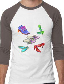 New Shoes! Men's Baseball ¾ T-Shirt