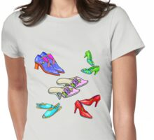 New Shoes! Womens Fitted T-Shirt