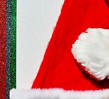 Christmas:  Santa's Hat with a Bit of Bling by Jen Waltmon