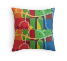 On the Sea Breeze Throw Pillow