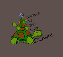 Turtles all the way down! Unisex T-Shirt