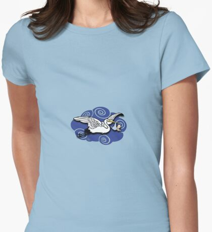 New baby on the way! Womens Fitted T-Shirt