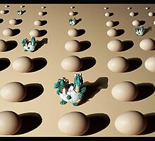 eggs an dragons 2007 by Iamclive
