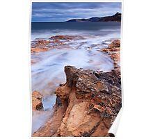 Blackmans Bay Rocks 2 Poster