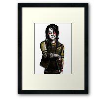 make some noise (frank iero / my chemical romance) Framed Print