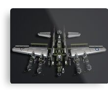 Warranty Void - Model Plane Metal Print