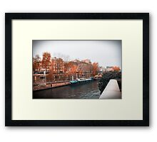 Paris In Fall Framed Print