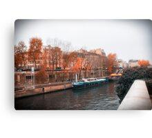 Paris In Fall Canvas Print