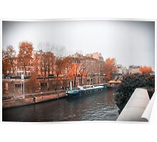 Paris In Fall Poster
