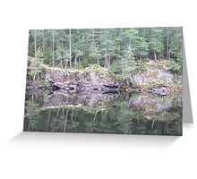 Squirrel Rapids - Algonquin Provincial Park Greeting Card