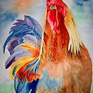 Rooster Booster by Marie Luise  Strohmenger