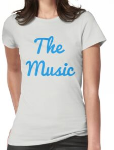 The Music - Blue Womens Fitted T-Shirt