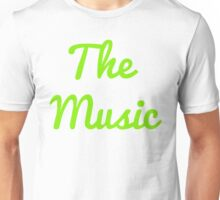 The Music - Green Unisex T-Shirt