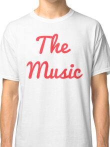 The Music - Red Classic T-Shirt
