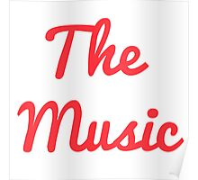 The Music - Red Poster