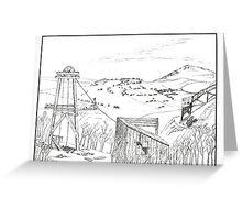 Cripple Creek - Pen & Ink Greeting Card