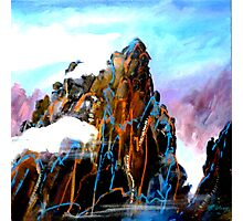 Huangshan - Reach the sky Photographic Print