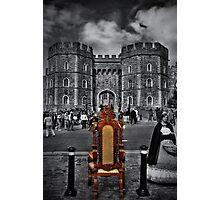 The Throne Photographic Print