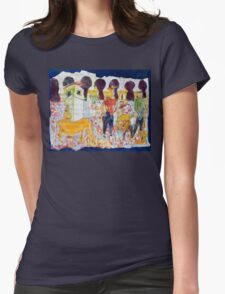 Opus 3 Womens Fitted T-Shirt