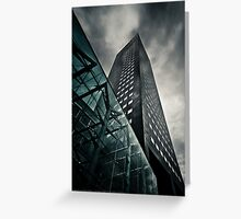 Corporate Heights Greeting Card