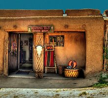""" Morning Talk On Taos Pueblo"" by Diana Graves Photography"