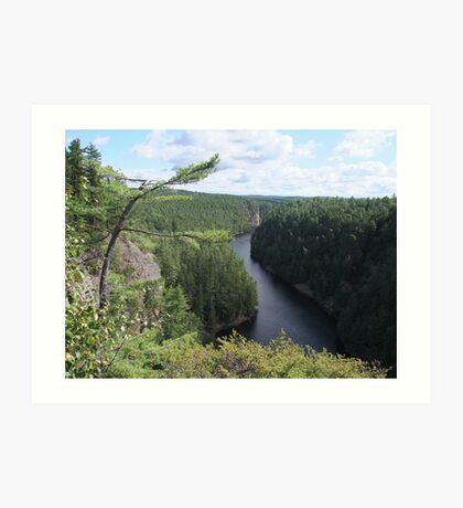 Barron Canyon - Algonquin Park Art Print