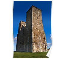 Reculver Towers 2 Poster