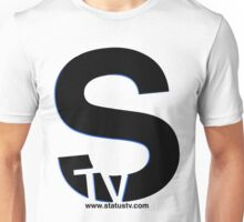 Black S with Blue trim t-shirt Unisex T-Shirt