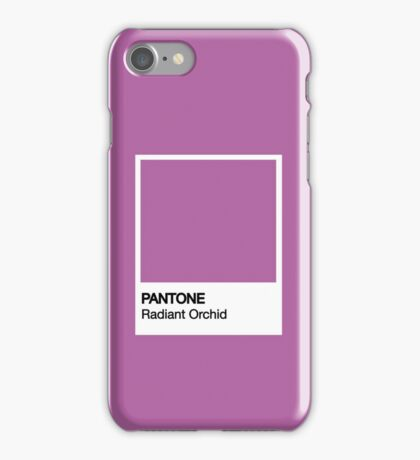 PANTONE Radiant Orchid iPhone Case/Skin