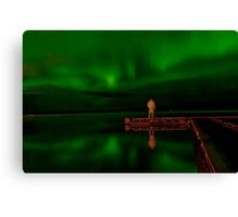 Steve...The Aurora Chaser Canvas Print
