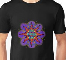 INFINITE LOVE GALACTIC OMMM BLOSSOM Unisex T-Shirt