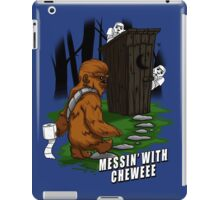 Messin' with Cheweee iPad Case/Skin