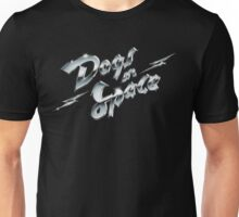 Dogs In Space - Chrome Unisex T-Shirt