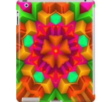 3D Pattern in a Vivid Wild Colors and Unique Style! iPad Case/Skin