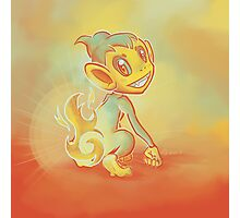 Chimchar Photographic Print