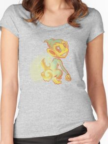 Chimchar Women's Fitted Scoop T-Shirt