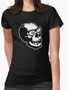 Vintage Skull Womens Fitted T-Shirt