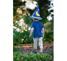 Young wizard Photographic Print