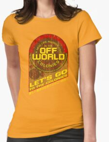 Off World Womens Fitted T-Shirt