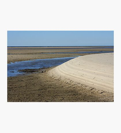 LOW TIDE AT THEODOLITE CREEK Photographic Print