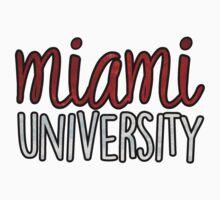 Miami University 2tone by katiefarello